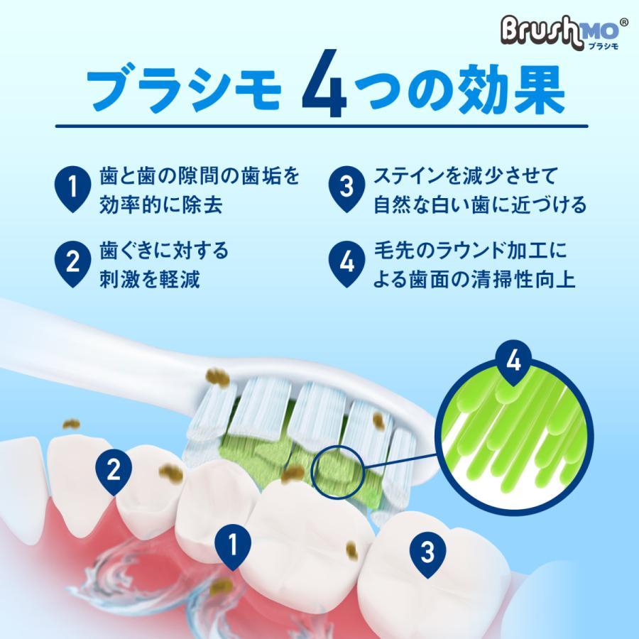 フィリップス ソニッケアー 替えブラシ  電動歯ブラシ 対応 Philips Sonicare ダイヤモンドクリーン スタンダードタイプ 8本入 ブラシモ 互換替えブラシ|sonimart|04