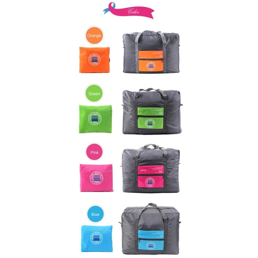 ポーチ バッグ 折り畳み式 バッグ メール便送料無料 ボストン リュックバッグ  エコバッグ 旅行バッグ スーツケース・整理整頓|soo-soo|04