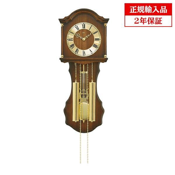 正規輸入品 アームス AMS 211-1 機械式掛時計 ボンボン時計 ブラウン 送料区分大