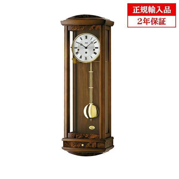 正規輸入品 アームス AMS 2607-1 機械式掛時計 チャイムつき ダークブラウン 送料区分大
