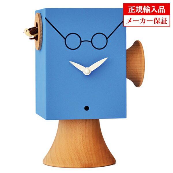ピロンディーニ 805d Pirondini 木製鳩時計 Faccine J.Lennon ブルー