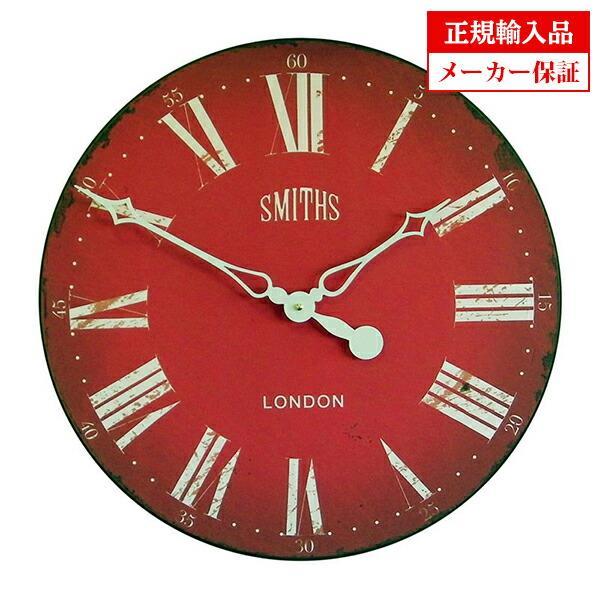 ロジャーラッセル GAL/SMITHS/赤 ROGER LASCELLES 掛け時計 スミスデザイン