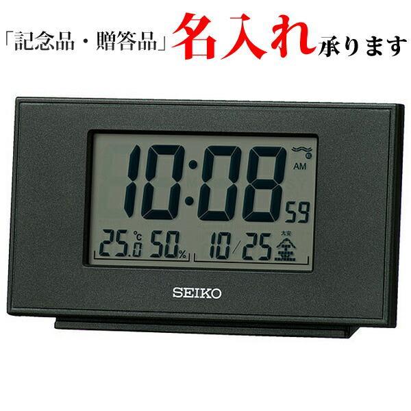 セイコー SEIKO 高品質 電波置き時計 デジタル ブラック SQ790K デジタル時計 新品