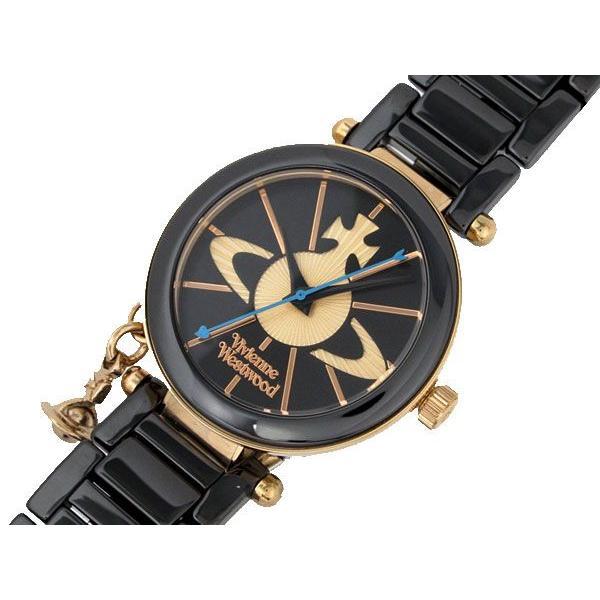 魅力的な ヴィヴィアン ウエストウッド VV067RSBK VIVIENNE WESTWOOD セラミック 腕時計 ST 長期保証3年付, d-ポケット c8fb71b4