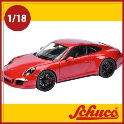 Schuco(シュコー)社ミニカー 450039000 ポルシェ911GTS レッド 1/18