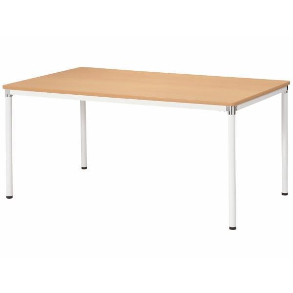 会議テーブル 幅1500×奥行900×高さ720mm 4本脚 AMY-1590 ミーティングテーブル 会議用テーブル NISHIKI ニシキ工業