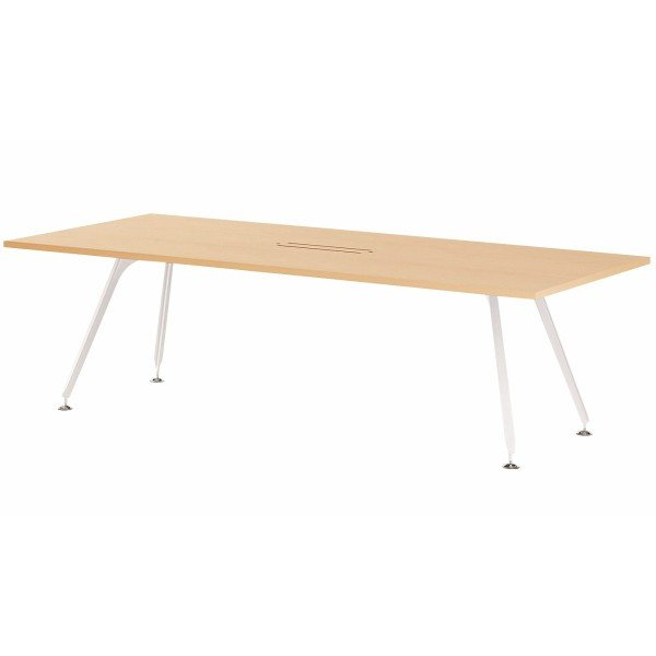 エグゼクティブテーブル 幅2400×奥行1200×高さ720mm SPD-2412W ワイヤリングBOXタイプ 高級会議テーブル 会議テーブル NISHIKI NISHIKI ニシキ工業
