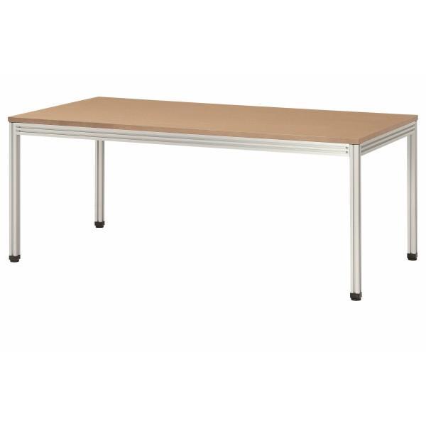 会議テーブル 幅1800×奥行900×高さ720mm 集成材タイプ 4本脚 YLF-1890G ウォール ラテ ラテ 高級会議テーブル 会議用テーブル NISHIKI ニシキ工業