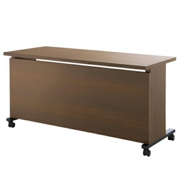 エグゼクティブテーブル 幅1500×奥行600×高さ720mm YWS-6015 高級会議テーブル ワイヤリング/キャスター付 指紋レス天板 NISHIKI ニシキ工業 ニシキ工業