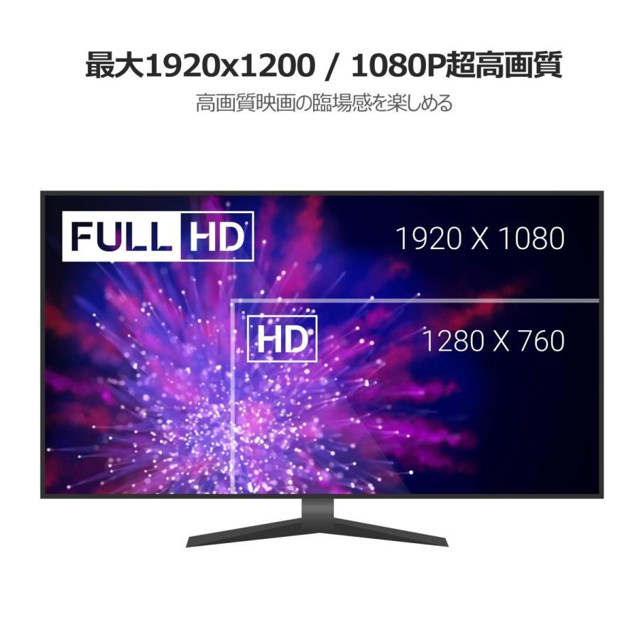 Cable Matters DisplayPort to DVI 変換ケーブル DP to DVI ケーブル 金メッキコネクタ搭載 1080P解像度 2m(ブラック)|soranoshouten|03