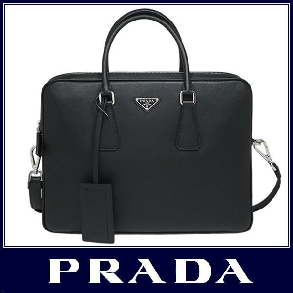 6046303436a5 PRADA プラダ ブリーフケース ビジネス バッグ A4対応 サフィアーノ ...