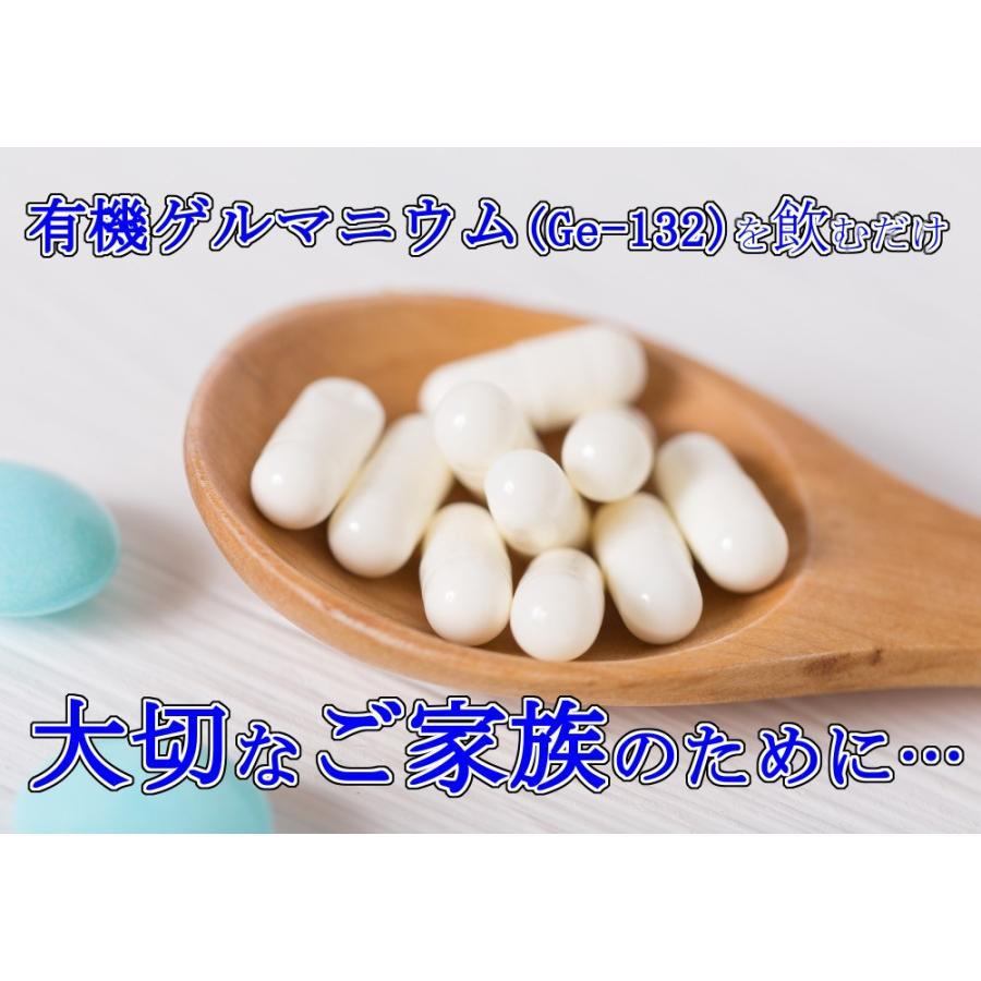 健康食品 飲む有機ゲルマニウム(Ge-132) カプセル 250mg×60粒 日本製 自社生産 サプリメント soseikan-ya 12