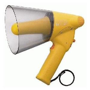 ER-1106W TOA メガホン 拡声器 ハンド型 防滴小型メガホン 6W ホイッスル音付 [ ER1106W ]