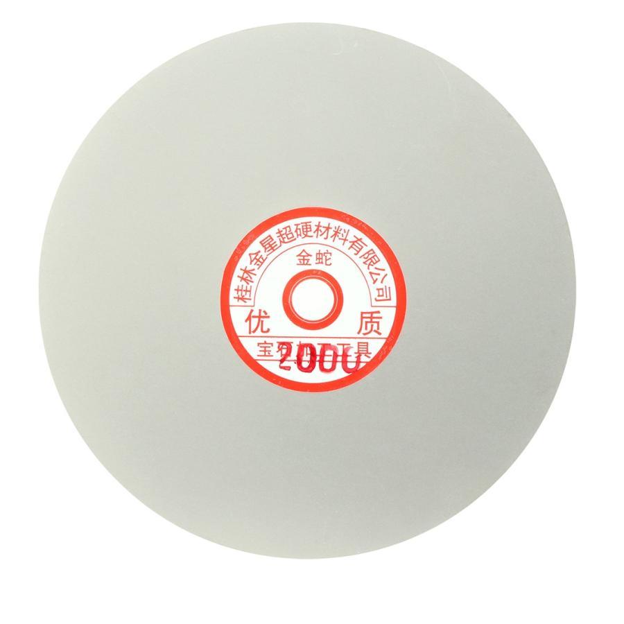 uxcell サンディング研磨ディスク 25%OFF ダイヤモンド研削盤 外径15cm グリット2000 休み フラットラップ