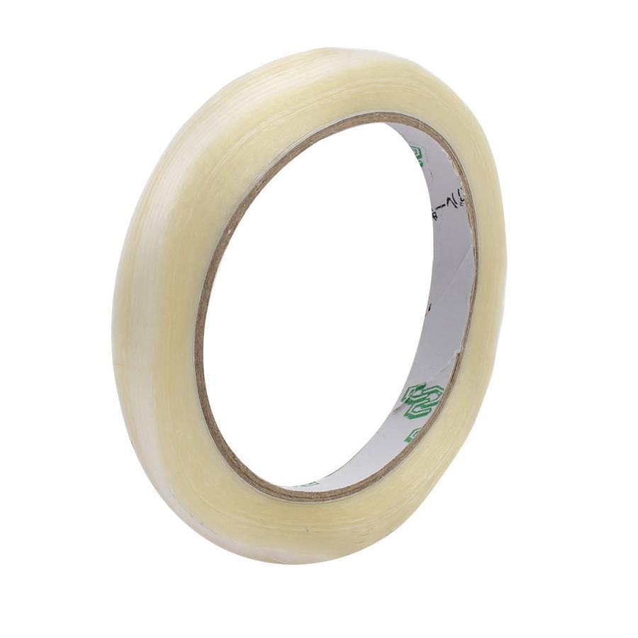 uxcell フィラメントテープ ガラス繊維テープ 10mm幅 時間指定不可 0.22mm厚さ ストライプタイプ 新作アイテム毎日更新 25m長