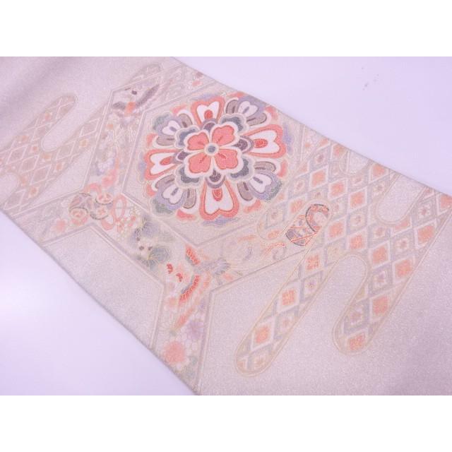 宗sou 未使用品 綴れ金彩華紋に鳳凰模様袋帯【リサイクル】【着】