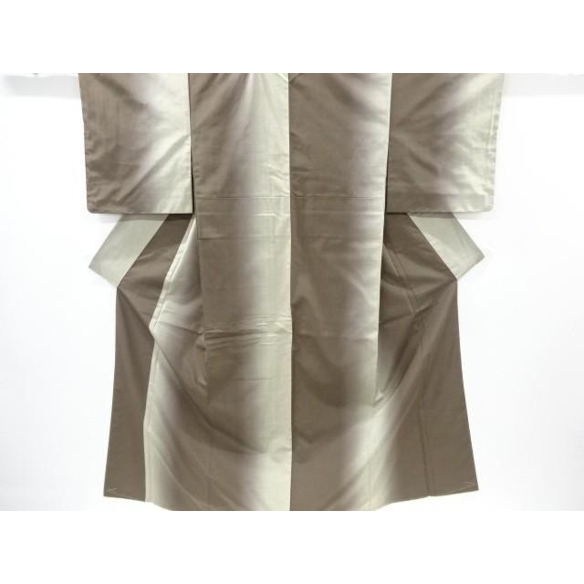 宗sou 未使用品 暈し柄織り出し節紬着物【リサイクル】【着】
