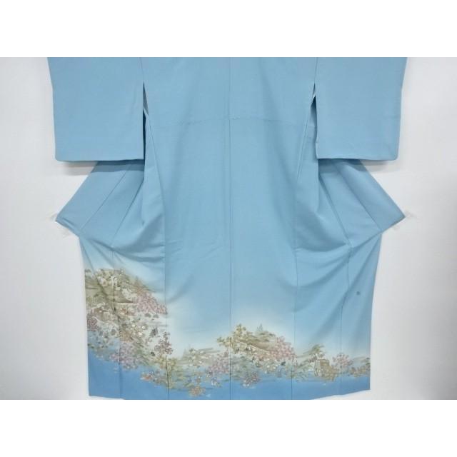 経典ブランド 宗sou 作家物 時代人物風景模様刺繍一つ紋色留袖【リサイクル】【着】, 加須市 efe2fb5c