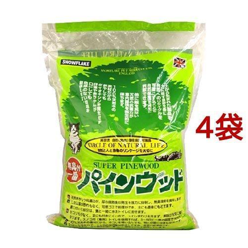 猫砂 パインウッド ( 6L*4コセット )|soukai