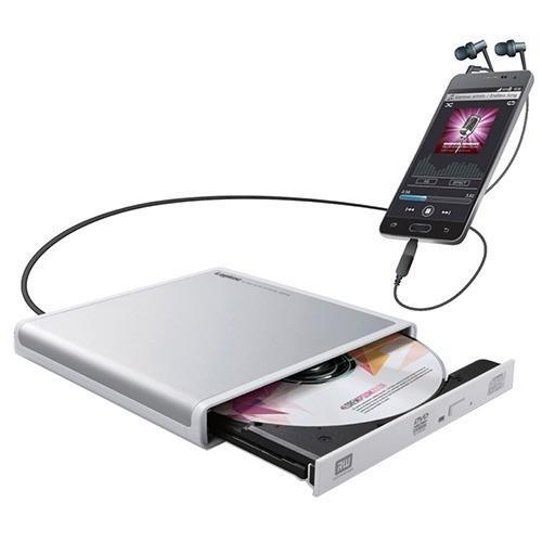 ロジテック Android用CD録音ドライブ ホワイト LDR-PMJ8U2RWH ( 1コ入 )/ ロジテック(Logitec)|soukai