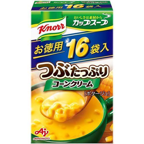 クノール カップスープ つぶたっぷりコーンクリーム ( 16袋入 )/ クノール|soukai