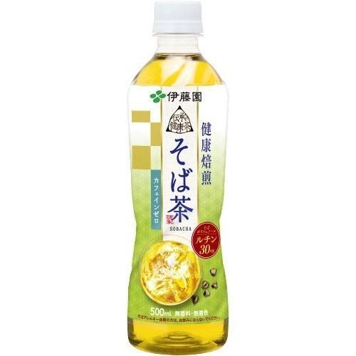 伊藤園 伝承の健康茶 健康焙煎 そば茶 ( 500ml*24本 )/ 伝承の健康茶