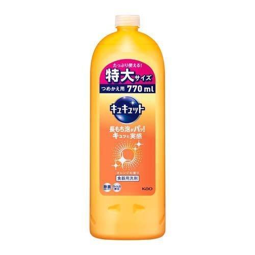 キュキュット 食器用洗剤 つめかえ用 大サイズ ( 770ml )/ キュキュット|soukai