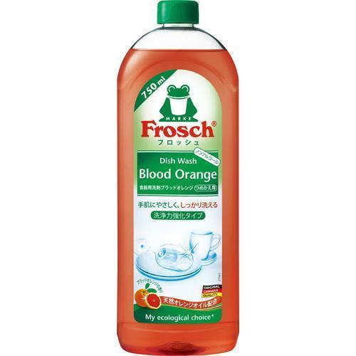 フロッシュ 食器用洗剤 ブラッドオレンジ 洗浄力強化タイプ ( 750ml )/ フロッシュ(frosch)|soukai