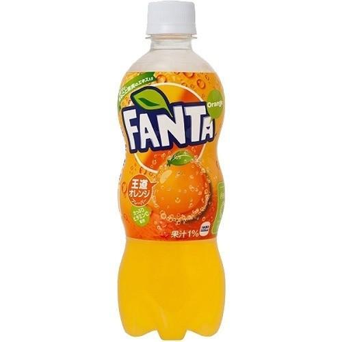 ファンタ オレンジ PET  ( 500ml*24本入 )/ ファンタ|soukai