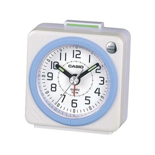カシオ 置時計 パールホワイト TQ-146-7JF ( 1コ入 )|soukai