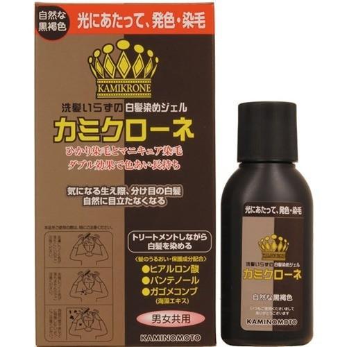 自然褐色_カミクローネ(DB) 自然な黒褐色 ( 80ml ) ( 白髪隠し ) :4987046820020 ...