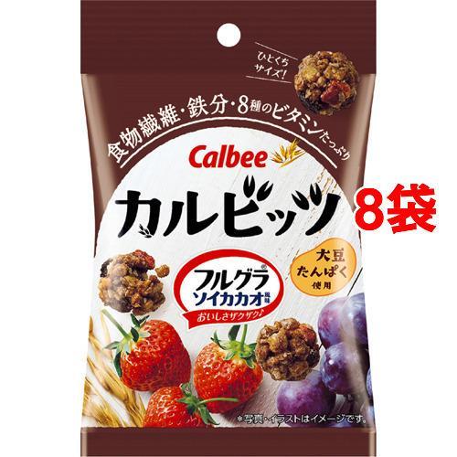 カルビッツ フルグラ ソイカカオ風味 ( 26g*8袋セット )/ フルグラ soukai