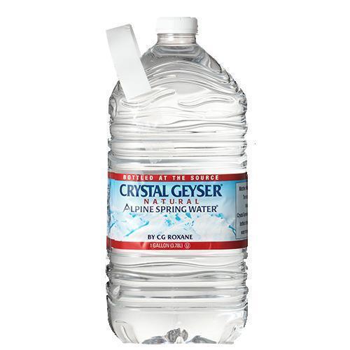 クリスタルガイザー ガロンサイズ ( 3.78L*6本入 )/ クリスタルガイザー(Crystal Geyser)|soukaidrink