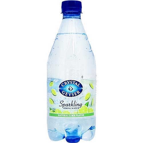 クリスタルガイザー スパークリング ライム (無果汁・炭酸水) ( 532ml*24本入 )/ クリスタルガイザー(Crystal Geyser)|soukaidrink