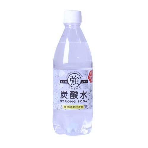 強炭酸水 ( 500ml*24本入 )|soukaidrink