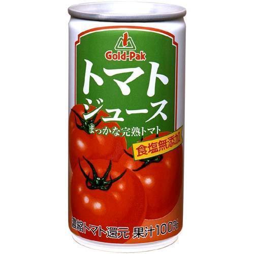 ゴールドパック トマトジュース 還元 食塩無添加 ( 190g*30本入 ) soukaidrink