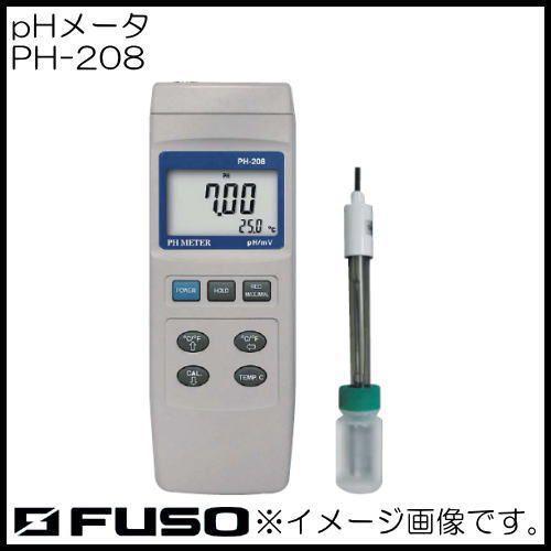 PHメータ PH-208 FUSO PH208
