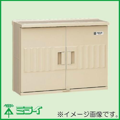 未来工業 ウォルボックス(プラスチック製防雨ボックス) ベージュ 1個 WB-6J MIRAI 直送・返品不可