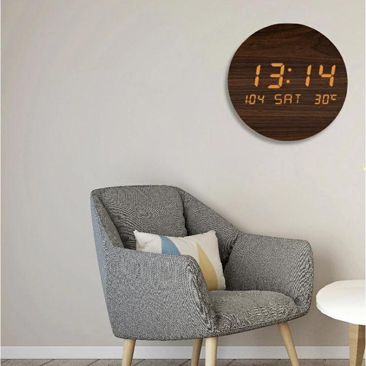 壁掛け時計 置き時計 デジタル電子時計 USB給電 おしゃれ 北欧風 掛け時計 掛時計 壁に掛けるLED夜の光時計 家庭用 soukyoushop 05