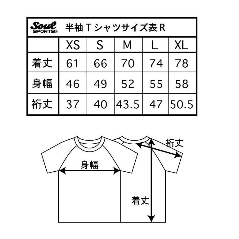 新日本プロレス×SOUL SPORTSコラボ 20th記念ラグラン半袖Tシャツ ブラック×ホワイト 2019新作 soul-sports 09