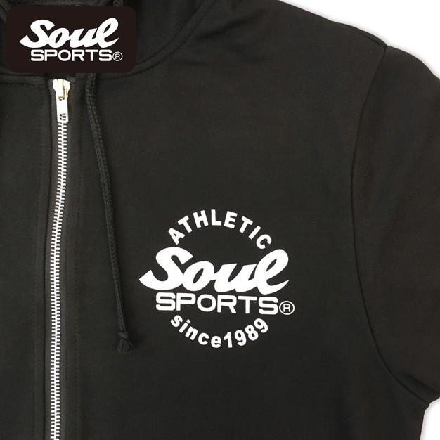 SOUL SPORTSオリジナル 集合ロゴジップパーカ ブラック 2018新作 soul-sports 06