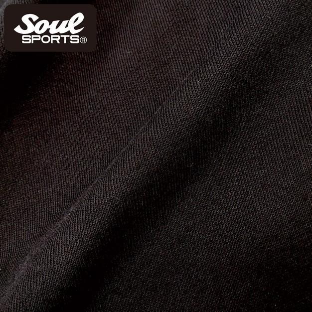 SOUL SPORTSオリジナル アメコミ風ダッシュマンロゴジップパーカ ブラック 2018新作|soul-sports|12