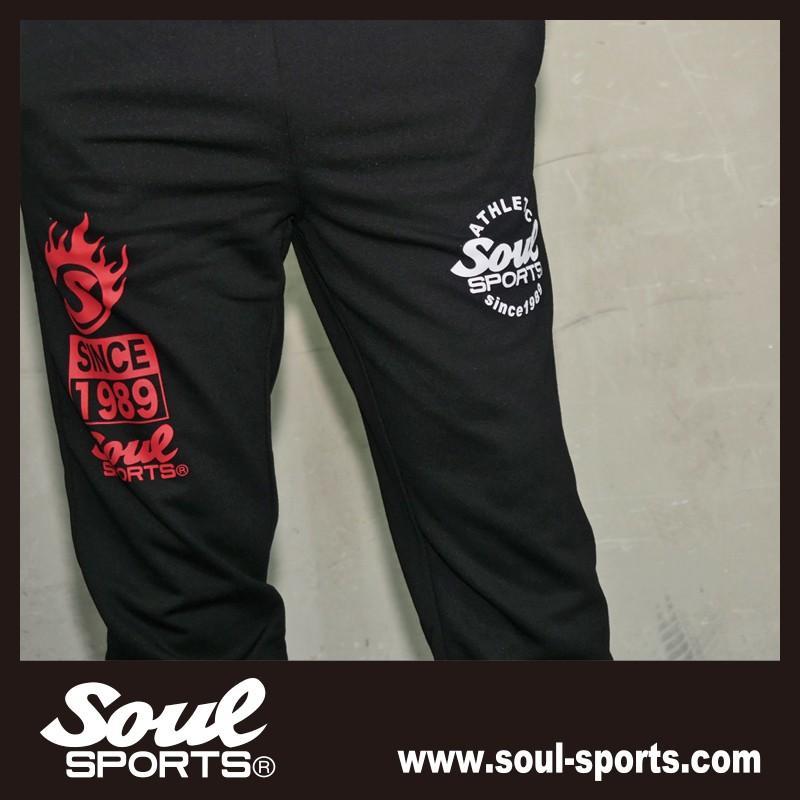 SOUL SPORTSオリジナル プリントロゴ スウェットパンツ(ロング丈) ブラック 2018新作|soul-sports|16