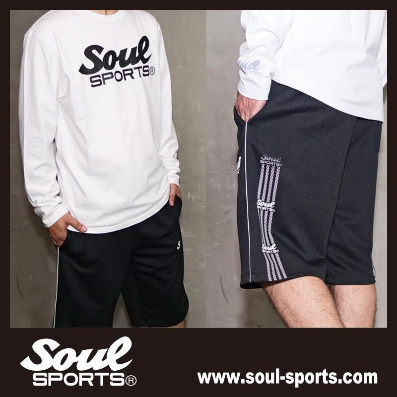 【SOUL SPORTS オリジナル】モノクロオーセンティックロゴ 長袖Tシャツ コットン100% ホワイト/ブラック 2019新作|soul-sports|16
