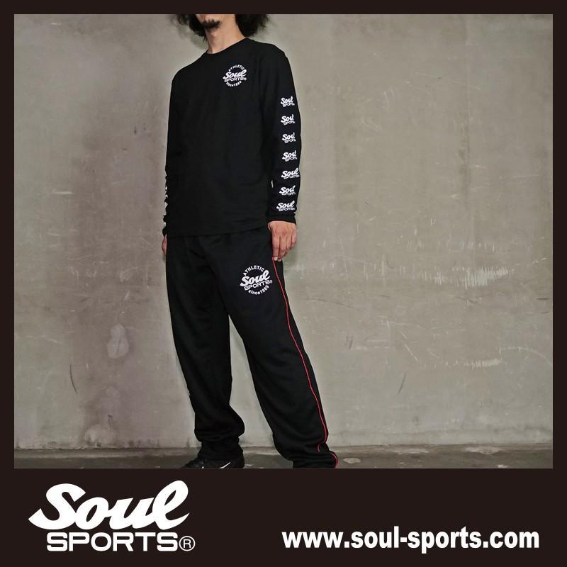 【SOUL SPORTS オリジナル】ナンバリングATHLETICロゴ 長袖Tシャツ コットン100% ホワイト/ブラック 2019新作|soul-sports|17