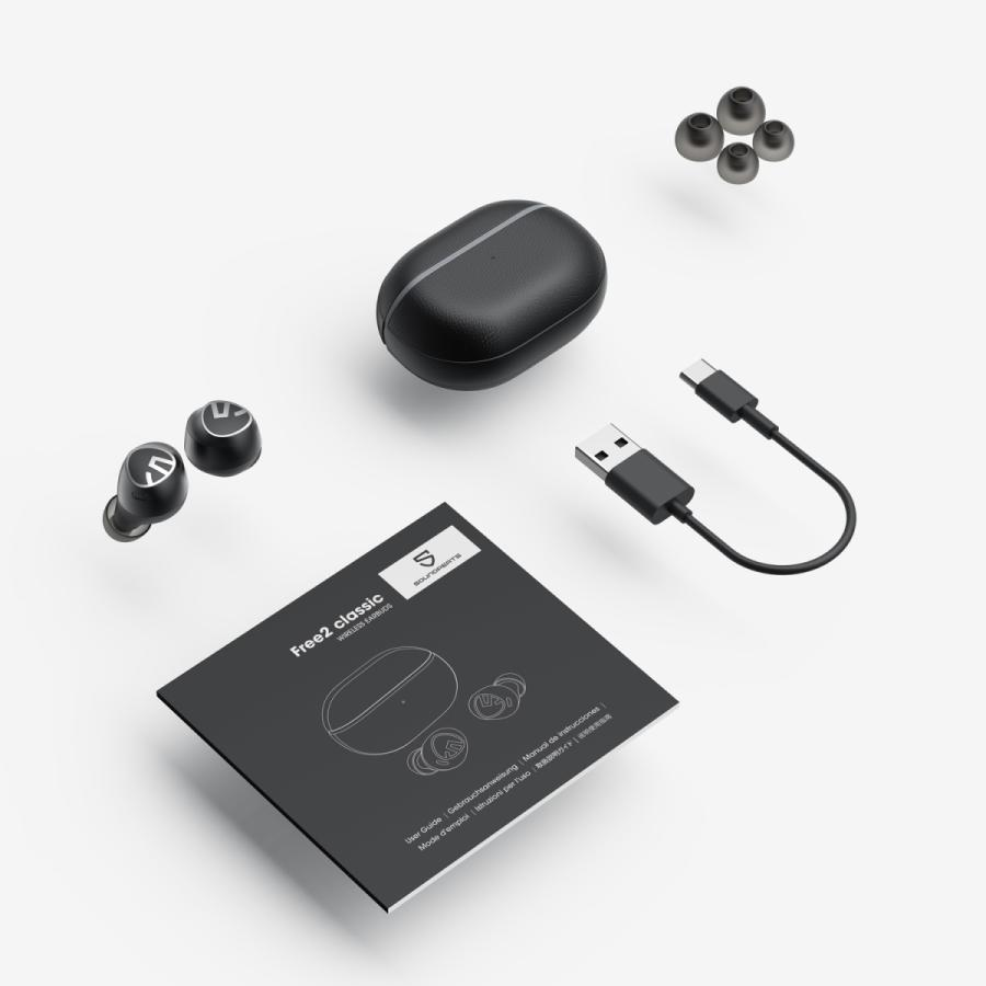ワイヤレスイヤホン Truefree+ サウンドピーツ SoundPEATS iphone bluetooth 携帯 ラジオ 防水 ブルートゥース イヤホン ワイヤレス マイク 音声 テレワーク|soundpeats|09