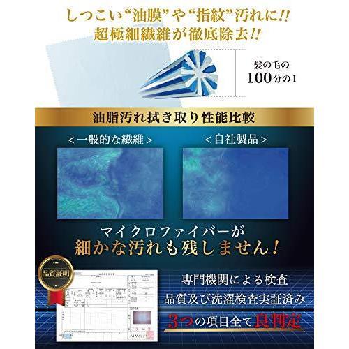 クリーニングクロス メガネ拭き めがねふき クロス メガネ レンズ クリーナー 計8枚|south-wave-japan|02