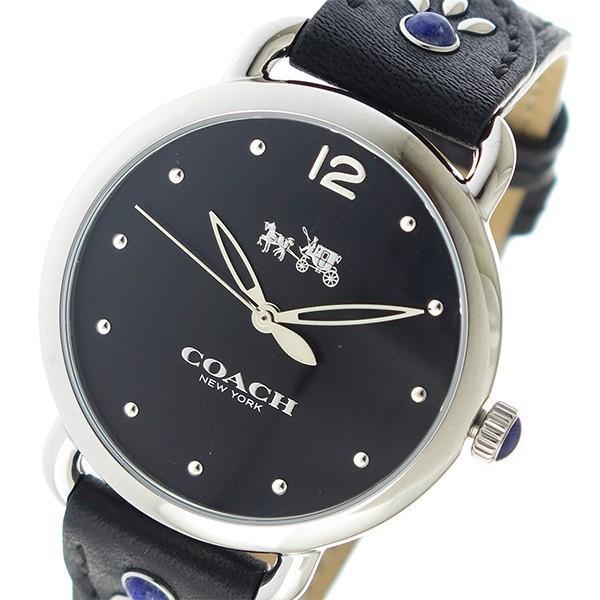 【待望★】 コーチ COACH クオーツ レディース 腕時計 14502738 ブラック ポイント消化, 100%正規品 4bf629f5