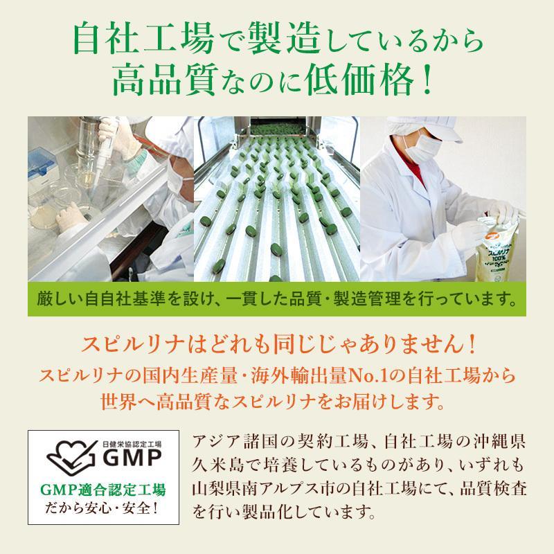 スピルリナ100% 2400粒 約2ヶ月分 野菜不足 偏食 スーパーフード アルカリ性食品 タンパク質の多い食品 sp100 18
