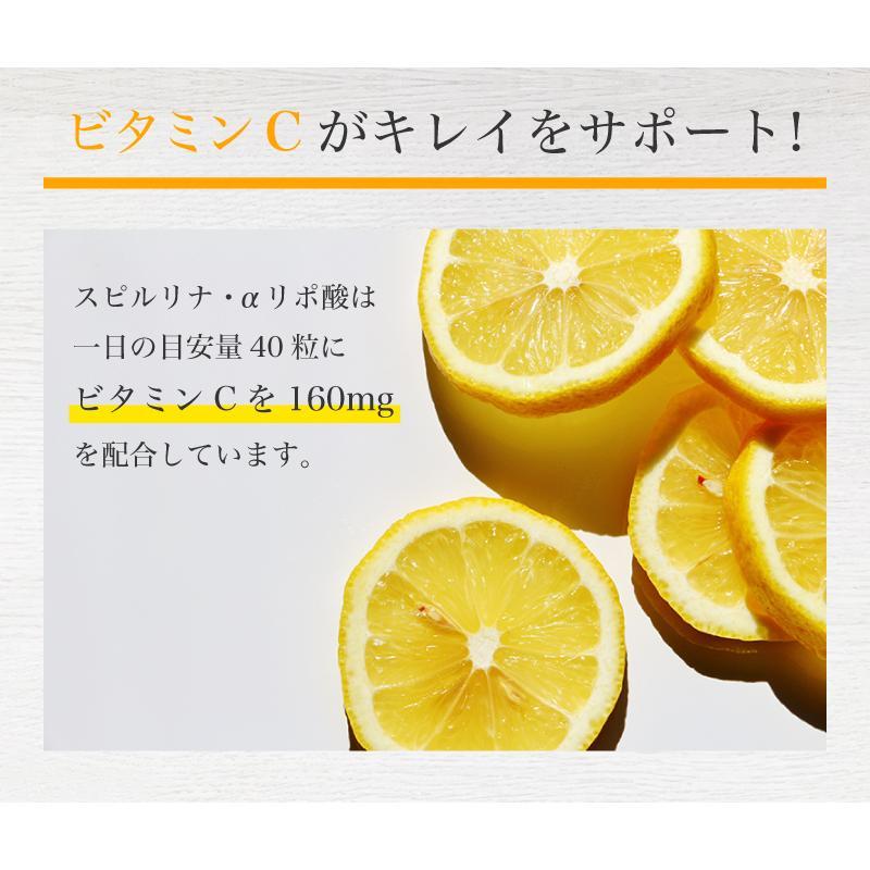 スピルリナ・α(アルファ)リポ酸 1200粒 ダイエットサプリ ポイント消化 健康食品 Spirulina sp100 12
